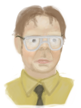 Dwight Schrute by JLai