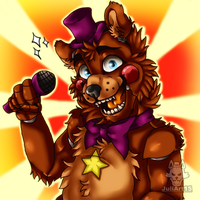 .:Rockstar Freddy:. by JuliArt15