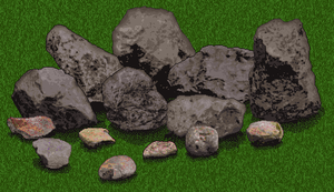 Furcadia Rock Patch by AnScathMarcach