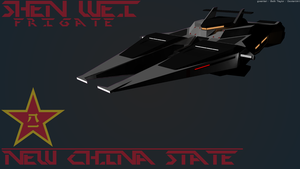 Shen Wei Frigate [New China] by Gwentari