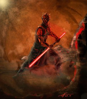 Darth Maul by Polyne55