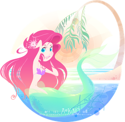 tropical summer splash by sonicelectronic