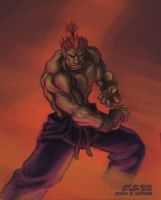 SFA3.FAC - Akuma by rook-over-here