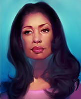 Gina Torres by chacuri