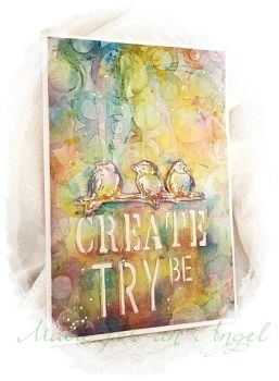 'Create Try  Be' by EA22