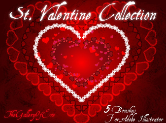 St Valentine Brushes _ AI Brushes by TheGalleryOfEve