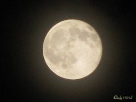 October Full Moon by cindy1701d