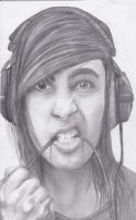 Vic Fuentes-lead singer of pierce the veil by AdiLohrey18