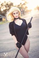 Black Canary cosplay - BLONDIEE by BlondieeGaming