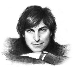 my tribute to Steve Jobs by februarymoon