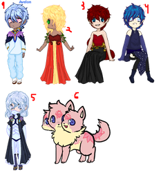More Adopts :open: by kittenAX