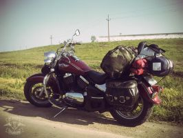 Riding to the Black Sea by dpaulo