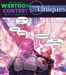 The Uniques ep. 8: Read on Webtoons! by ComfortLove