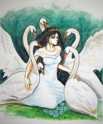 The Six Swans by wrexjapan