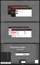 Numix Full Version Theme For Win7 by Cleodesktop
