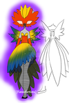 Feathers outfit adopt (OPEN) by Fateofartists