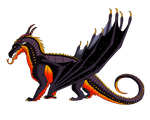 Volcanic Night Sky Adopt (CLOSED) by ShardTheIceNight
