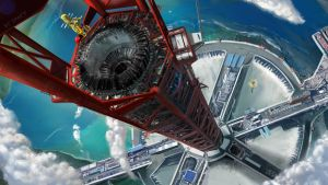 Space Elevator (Personal IP) by dom85