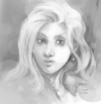 Luna Lovegood by LeksaArt