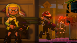 (SFM Splatoon 2) Sticky Situation by crueldude100