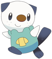 Oshawott by Crystal-Ribbon