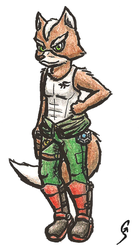 Star Fox Tank Top Concept Design by Geo-Dragon