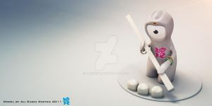Wenlock_Tooth by aliengine