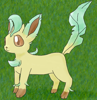 Leafeon by Diddgery