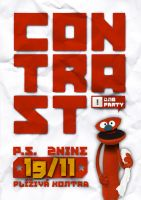 CONTRAST 02 flyer by 2NiNe