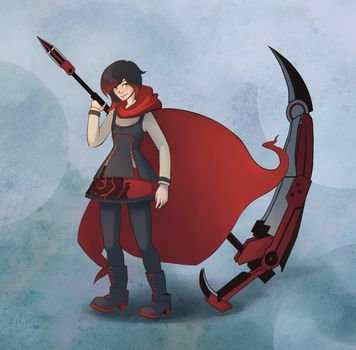 Ruby Rose by sparkyrabbit