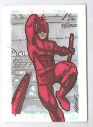 daredevil sketch card by EmanuelMacias