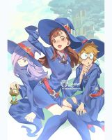 Little Witch Academia By JettyJet Web by THEJETTYJETSHOW