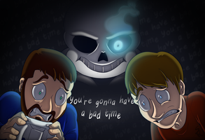 Game Grumps: Undertale Bad Time by Sound-Resonance