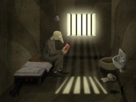The Prison Cell 1 by JenTheThirdGal
