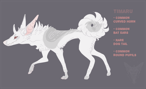 Timaru| Albino bean OTA {CLOSED} by NoteS28