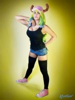 Miss Kobayashi's Dragon Maid Lucoa Cosplay! by Khainsaw