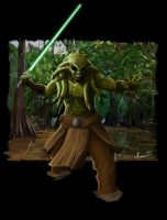 Kit Fisto by Galeart