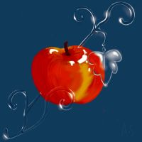 Glass Apple by Frasee