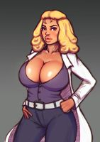 Bimbo Scientist by boobsgames