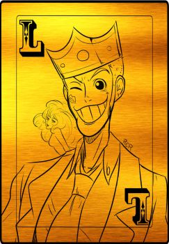 Lupin III cards #1 by RCR2895