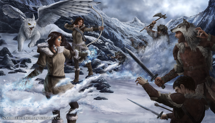 Arctic Conflict by NatalieFuinha
