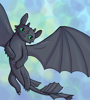 Toothless by CutenessMaximized