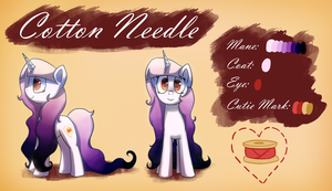 Cotton Needle by AnticularPony