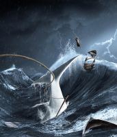 The curse of Ahab by dresew