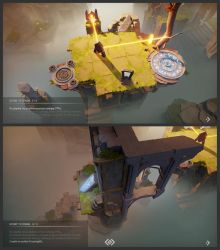 In-game tutorial in Archaica by MarcinTurecki