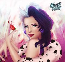 Cruella De Vil Fan Art by TearsofDragon