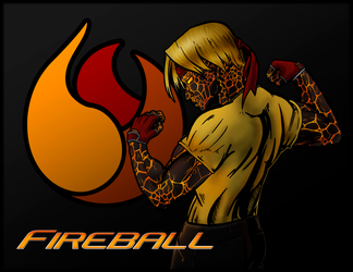 Fireball - Pit Fighter by SCOm1359AP