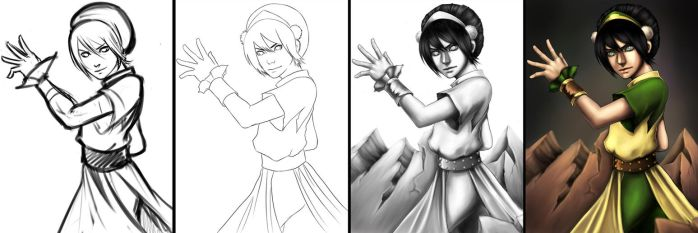 Toph Request Stages by AnimantX