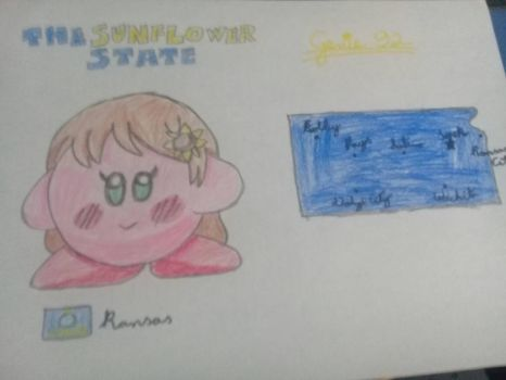 Kirbytalia (US states) - Kansas by Genie92