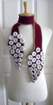 Tentacle Scarf - Custom - 49ers by Arexandria